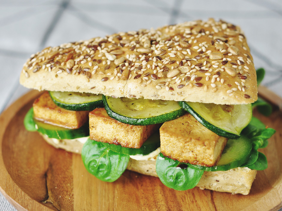 The Big Spicy Tofu Sandwich