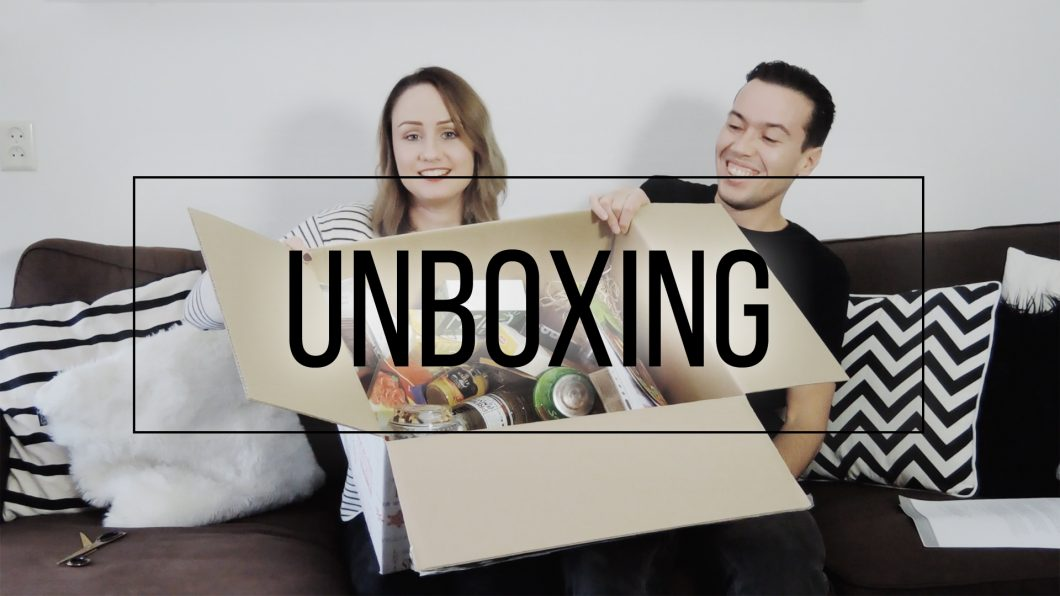 Foodybox Unboxing