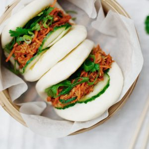 Pulled Chicken Buns